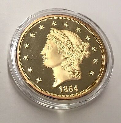 1854S Proof $20 By Fantasy Of A One Of A Kind Coin