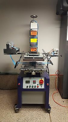 Hot Foil Stamp Machine Model HSC - 50SH  Hot Stamp Company (5 Ton)