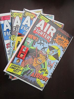 Air Fighters Classics (1987) #1-4 - 8.0 VF - 1988