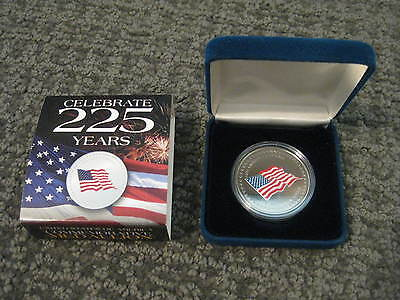 2001 United States of America-225th Anniversary-Commemorative Medallion