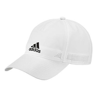 Adidas Unisex Classic 6 Panel Climalite Training Cap - NEW 2017 - White Black