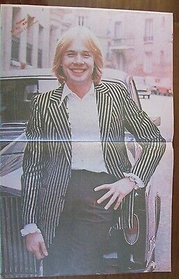 Richard Clayderman  Musicians Celebrity Poster 1980 From A Magazine In Spanish