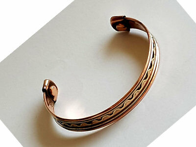 Copper Bangle Magnetic Bracelet #CB12