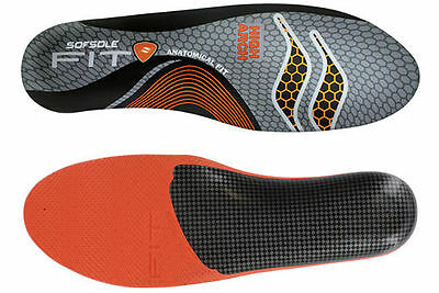 Sof Sole Fit Insoles High Arch Inserts - Various Sizes