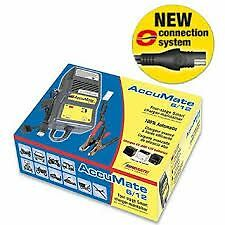 Accumate Optimate 6v / 12v Battery charger NEW Can be switched between 6v & 12v