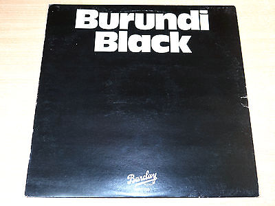 "EX- !! Burundi Stephenson Black/Burundi Black/1978 Barclay 12"" Single"