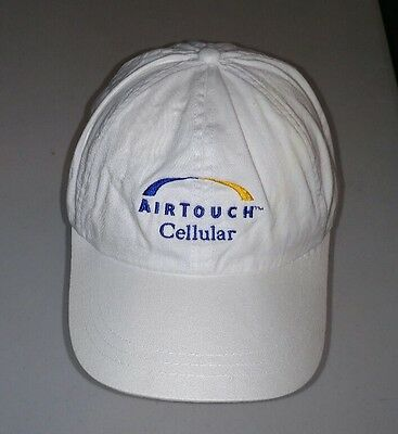 Airtouch Cellular Hat Baseball Snapback Cap Cell Phone White 1990s Defunct