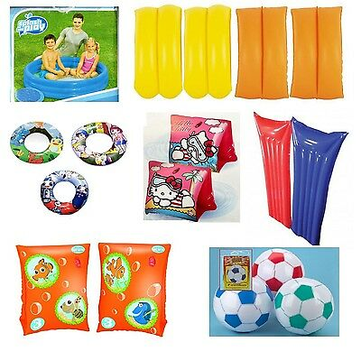 Summer Inflatables Holidays Children Swimming Pool Garden Rings Arm Bands Pools