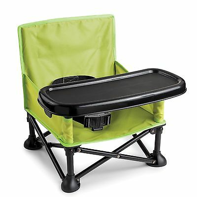 Summer Infant Pop n Sit Plastic Portable Booster Chair Seat Baby Feeding Travel
