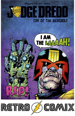 Idw Judge Dredd Cry Of The Werewolf First Print New/unread Bagged & Boarded