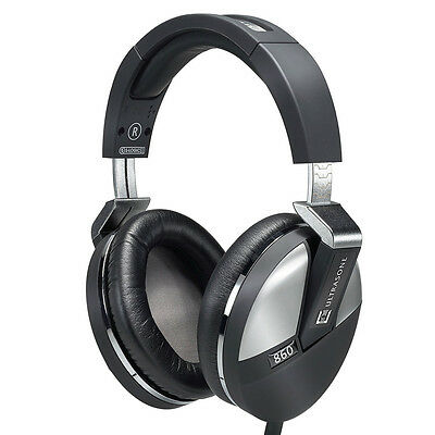 Ultrasone Performance Series 860 Monitoring Mixing Headphones S-Logic + Case