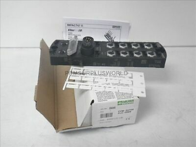 55086 Murr Elektronik plastic compact ethernet module 8 dig. in/out (New)
