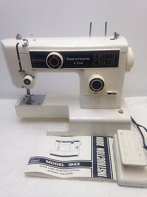 KENMORE SEWING MACHINE Model 40 Zig Zag Special Touch Sew Stretch New Kenmore Sewing Machine Model 385