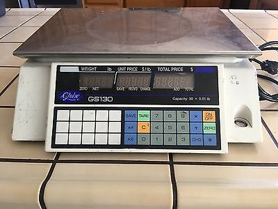 Globe GS30 Legal for Trade Price Computing Scale