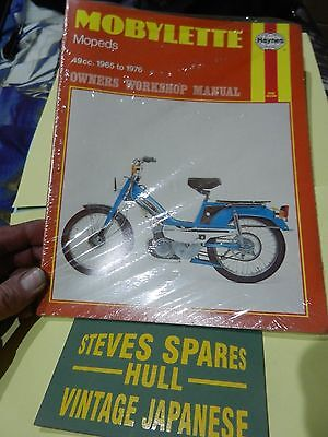 MOBYLETTE/MOTOBECANE  OWNERS WORKSHOP MANUAL new  .