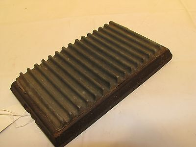 Antique c1866 Cast Iron Fluting Iron Flutter