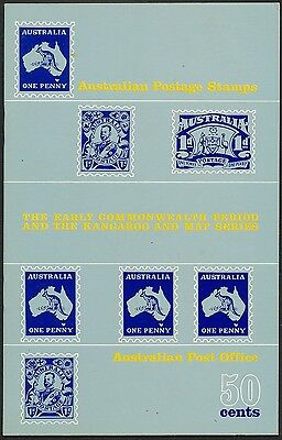 The Early Commonwealth Period & Kangaroo & Map Series Booklet
