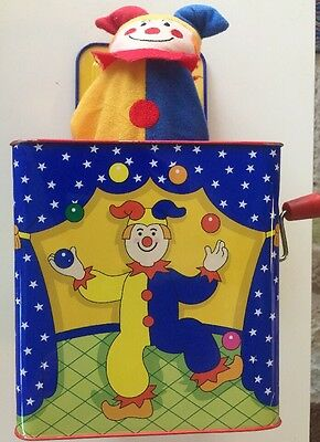 Schylling Jack-In-The-Box Clown Version