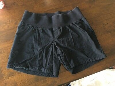 Liz Lange Maternity Black UnderBelly Band Shorts Sz Small Dressy Cute