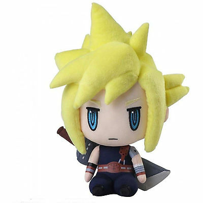 Final Fantasy VII Cloud Strife 10 Inch Plush Figure NEW Toys Collectibles