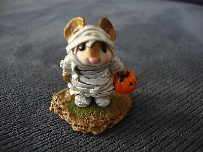 Wee Forest Folk The Mummy M194 Mouse