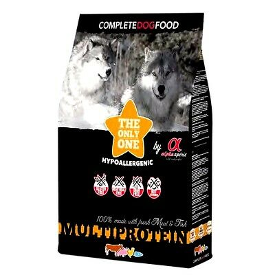 Pienso Perros Hipoalergénico Alpha Spirit Alimento  Multiprotein 3kg