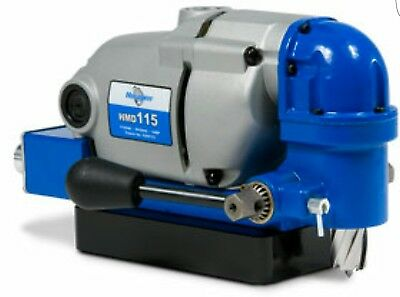 New  Hougen Hmd115 Ultra Low Profile Magnetic Drill (115V)