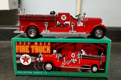 Texaco 1929 Mack Fire Truck by Ertl Collector Series 15