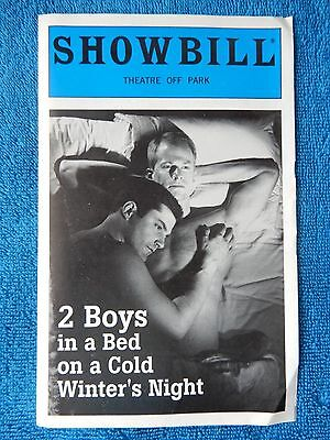 2 Boys In A Bed On A Cold Winter's Night - Theatre Off Park Playbill - 1995