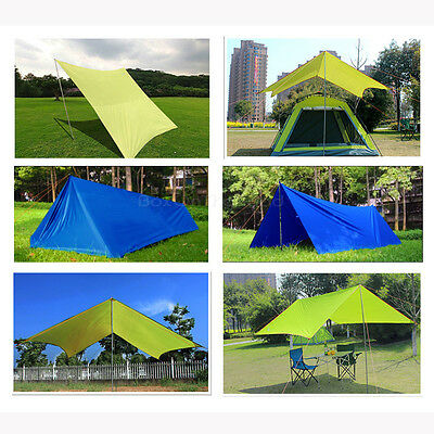 Sun Shade Sail Square 10'x10' Waterproof UV Block Outdoor Shelter Canopy Cover