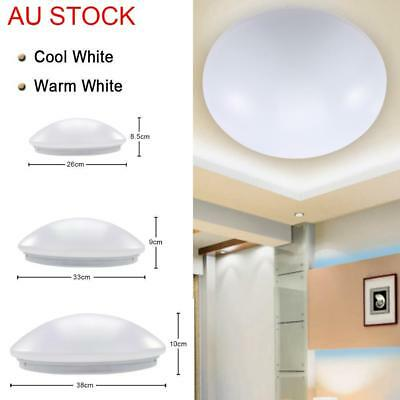 LED Oyster Ceiling Light Fitting 20W 30W 40W Slimline Cool White Warm White GL