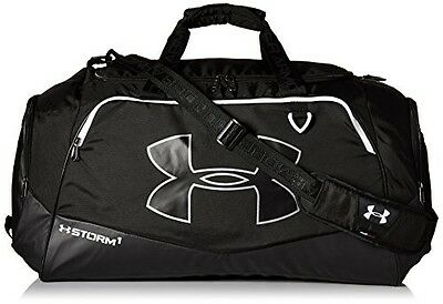 Under Armour Undeniable 2 Duffel Bag Gym Workout Sport Luggage Royal Large Black