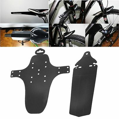 2Pcs Cycling Bicycle Front Rear Mudguard Fenders Road Bike Mountain MTB New