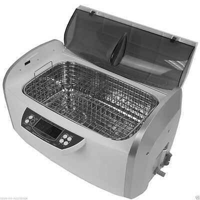New! 6L 300W  Ultrasonic Cleaner with Heater & Timer & Stainless Steel Basket