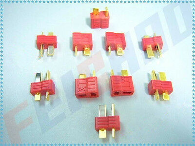 10 Pairs Dean Connector XT plug T plug For ESC Battery Fpv Drone Quadcopter