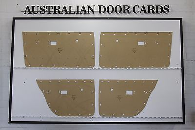 Chrysler Valiant VE, VF, VG Series Door Cards. Sedan, Wagon. Blank Trim Panels
