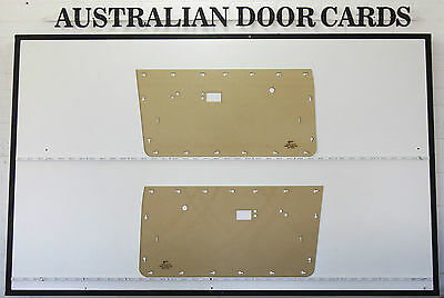 Chrysler Valiant VE VF VG Door Cards Ute, Sedan, Wagon. Blank Trim Panels