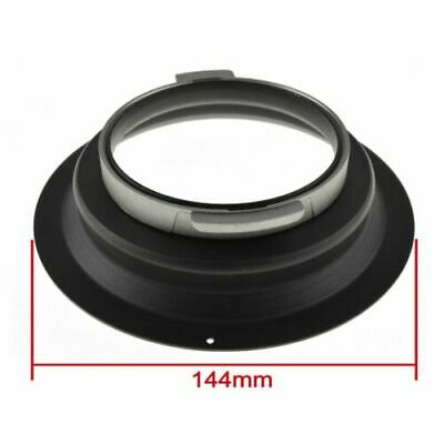 144mm Diameter Speedring Mount Flange Adapter fr Broncolor Pulso / Compuls (A)