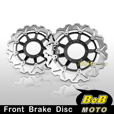 Honda CBR929RR 2000 2001 Front Stainless Steel Brake Disc Rotor Pair