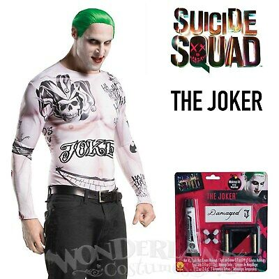 The Joker Costume Kit Adult Size Suicide Squad Movie DC Comics Villain Licensed