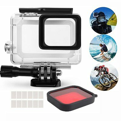 Waterproof Housing for GoPro Hero 5 Action Camera Aoyooh Protective Case Black w