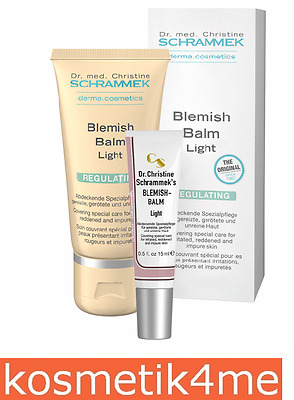Dr. med. Christine Schrammek Kosmetik - Blemish Balm Light 30 + 15 ml