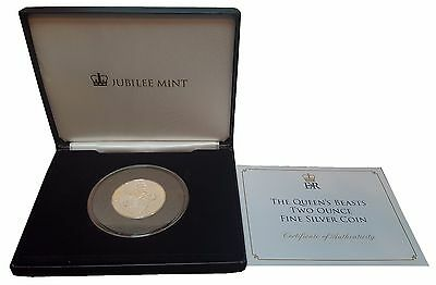 2016 The Queen's Beasts Two Ounce Fine Silver £5 Coin (B5)