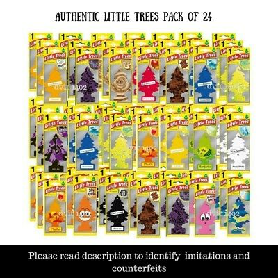 60 pack of Wunder Baum WHOLESALE LOT ORIGINAL LITTLE TREES MIX AIR FRESHENER CAR