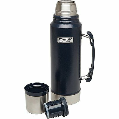 Stanley Coffee Thermos Vacuum Bottle Classic 1.1 Quart Stainless Steel Hammerton