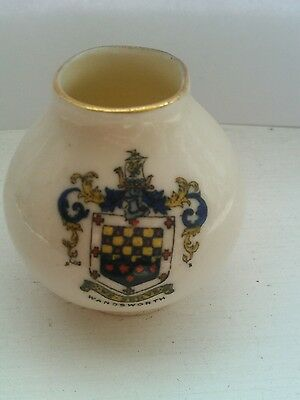 Miniature Vintage Wandsworth Crested ARCADIAN China/Porcelain A&S Stoke OnTrent