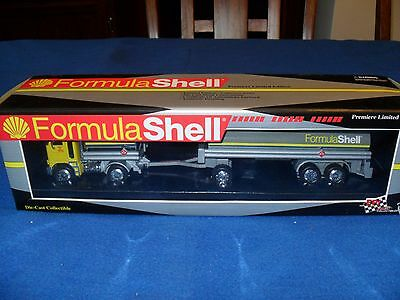 1995 Shell Oil Company's Die-Cast Collectible Tanker Truck #05343 Of 10,000