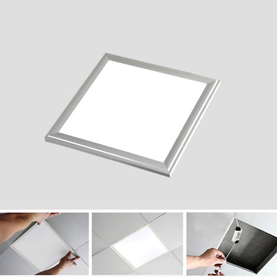 Panel LED Slim 30x30cm 12W  Marco Plata 6000K