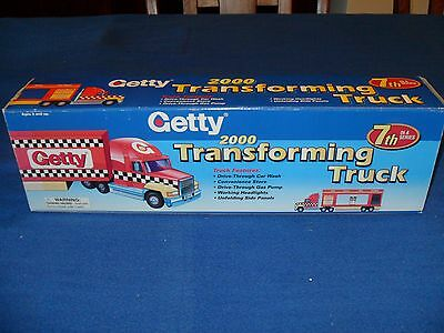 2000 Getty Toy Transforming Truck 7Th In A Series