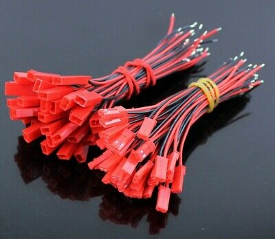 Pack 20 Conectores Jst Con Cable (10 Hembra + 10 Macho)